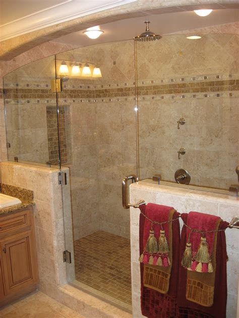 Bathroom Shower Design by Small Bathroom Shower Tile Ideas Large And Beautiful