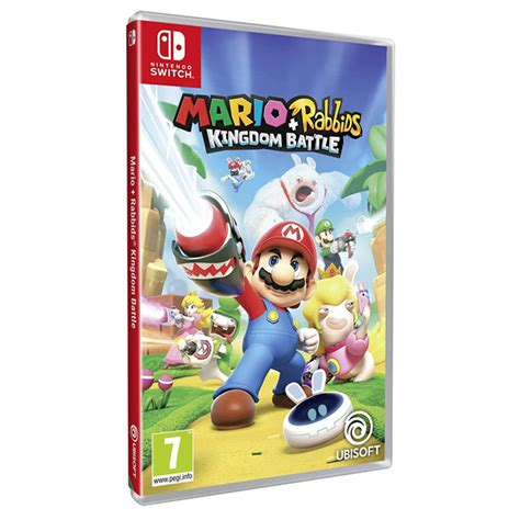 Kaset Nintendo Switch Mario Rabbids Kingdom Battle mario rabbids kingdom battle switch giocattoli e videogiochi ultragames toys