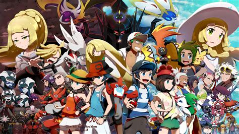 pok mon ultra sun pok mon ultra moon the official alola region strategy guide books ultra sun and ultra moon wallpaper hd