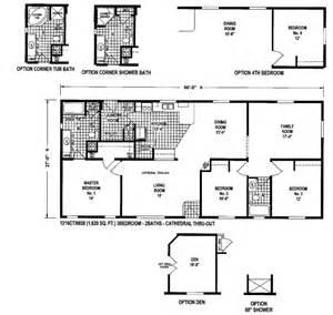 Floor Plans For Manufactured Homes Leisureland Homes Floor Plans Oregon