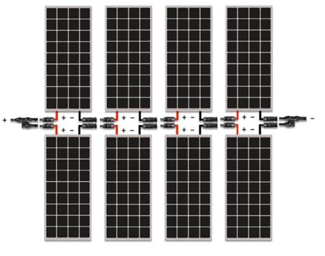 wiring solar strings should i connect my solar panels in
