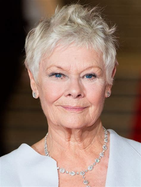 how to cut judi dench hair judi dench haircut how to newhairstylesformen2014 com