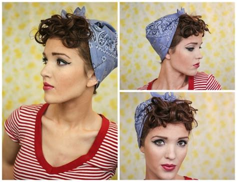 everyday retro hairstyles 28 best pin up rockabilly rockabellas images on pinterest