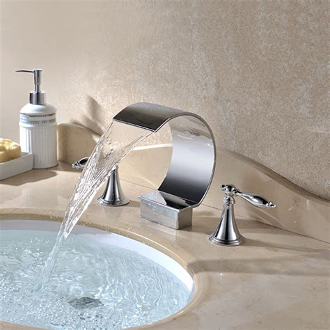 bathtub waterfall faucet bathtub with waterfall faucet best waterfall 2017