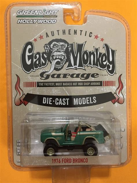 Greenlight Seri Gas Monkey Garage 1976 Ford Bronco 1976 ford bronco gas monkey garage 160 00 en