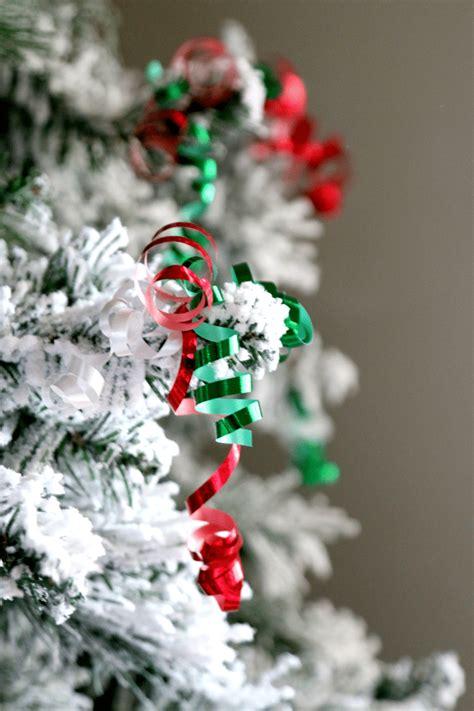 diy ornaments ribbon paper clip and ribbon diy ornaments