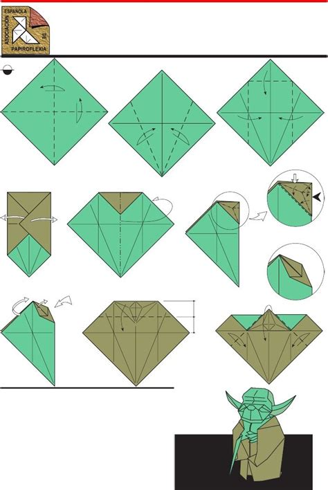 How To Make Origami Yoda Step By Step - wars origami wars