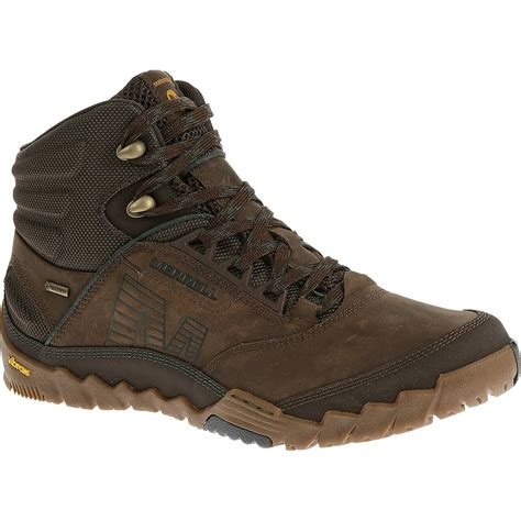 mens mid hiking boots merrell annex mid tex hiking boot s ebay