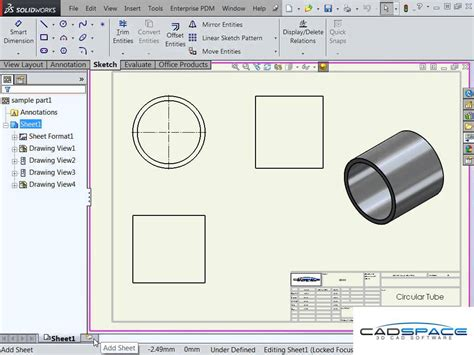how to setup your solidworks drawing template youtube