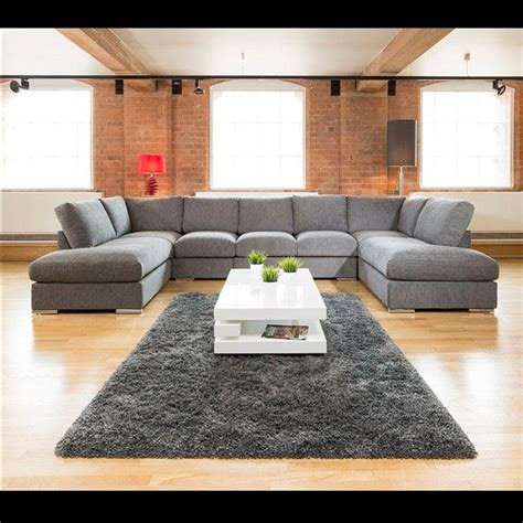 large sofa bed large u shaped sofa bed baci living room