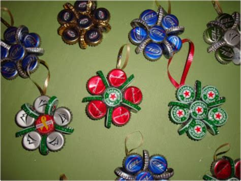 top 10 upcycled bottle cap diy christmas ornaments top