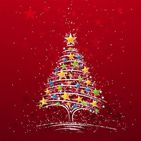 free wallpapers for apple ipad starry xmas tree