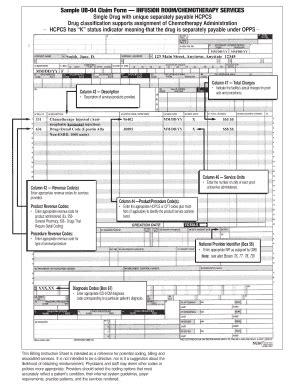 ub 04 form template ub04 blank