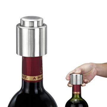 stainless steel sealed wine stopper bottle spout liquor flow stopper pour ca us 2 29