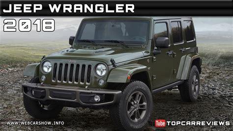 Jeep Wrangler 2018 Review by 2018 Jeep Wrangler Review Rendered Price Specs Release