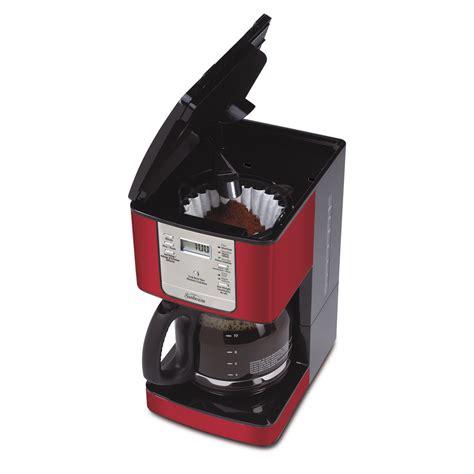 Sunbeam® 12 Cup Programmable Coffeemaker, Jester Red BVSBJWX27JR 033   Sunbeam® Canada