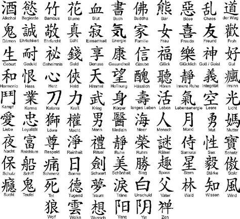 Aufkleber Japanische Schriftzeichen by Chinesische Schriftzeichen Aufkleber Wandtattoo Auto