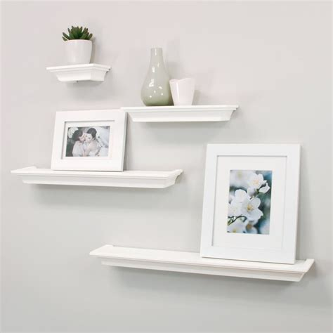 plastic floating shelves 25 best ideas about white floating shelves on