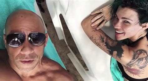 vin diesel relationships vin diesel and ruby rose are the bffs you never knew about