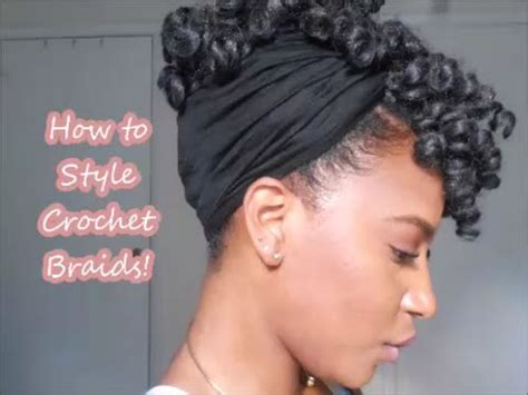 updo crochet braids simple updo with crochet braids youtube