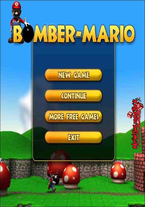 full version of mario game free download bomber mario free download full version pc game setup