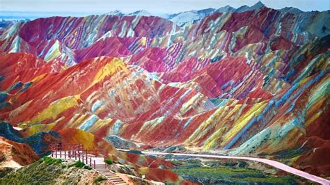 the colors of the mountain world rainbow mountains wanderlust magazine