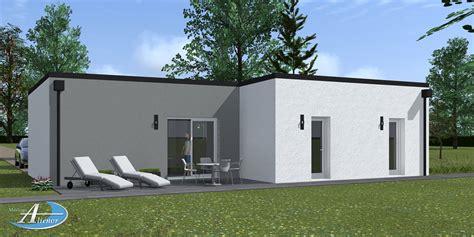 Toit Maison Moderne by Plan Maison Contemporaine Toit Plat Fa86 Humatraffin