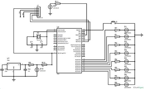 microcontroller circuit diagram design circuit and