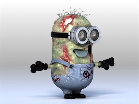 imagenes de minions zombies zombie render 2 zombie minions cg gallery computer