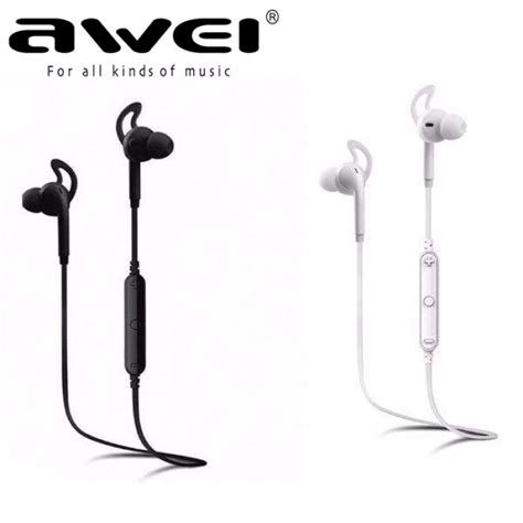 Original Awei A610bl Bluetooth 4 0 Sport Sweatproof awei a610bl bluetooth 4 0 sweat proof sport stereo earphone with microphone