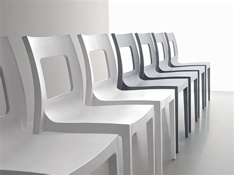 sedie in polipropilene sedia in plastica di point disponibile in due