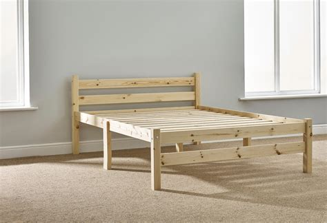 Solid Pine Bed Frame Samson 4ft Small Solid Pine Bed Frame