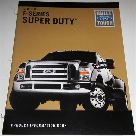 book repair manual 2008 ford f series super duty auto manual sell 2008 ford f series super duty product information book brochure ft xl xlt fx4 motorcycle