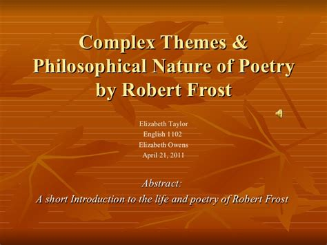 themes in literature about nature complex themes philosophical nature of poetry by