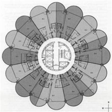 marina tower floor plan marina city towers floor layout i love chicago pinterest