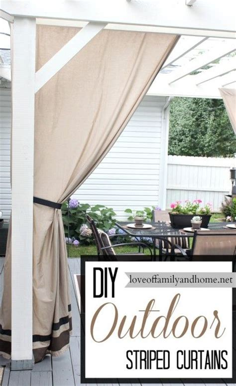 Canvas Patio Curtains 223 Best Images About Window Treatment Wizardry On Pinterest Window Treatments Drop Cloth