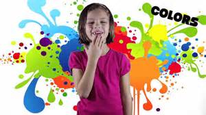 sign language colors colors song learn your asl colors