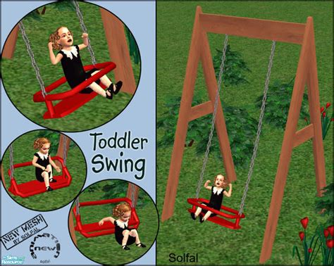 sims 2 baby swing solfal s toddler swing