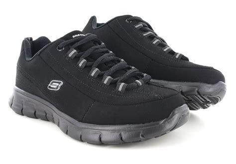Size 25 5 Sepatu Sandal Original Skechers Synergize Current womens skechers sport synergy trend setter black