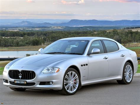 maserati quattroporte 2008 2008 maserati quattroporte v pictures information and