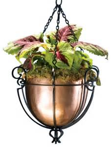 Wood Window Planter Box - hanging copper planter traditional outdoor pots and planters by h potter