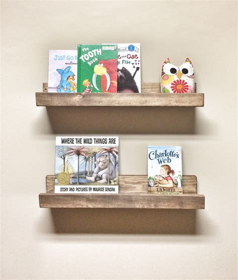 Rustic Wood Ledge Shelf by Rustic Wooden Picture Ledge Shelves Gallery Wall Shelf