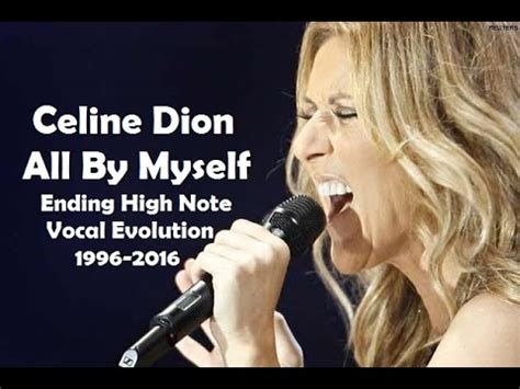 all by myself dion all by myself ending high note vocal