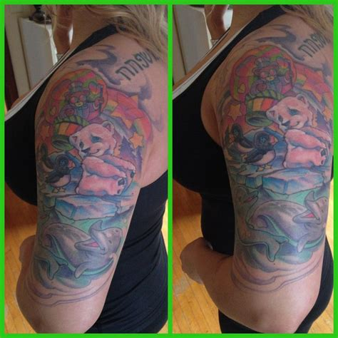 lisa frank tattoo frank sleeve tattoos frank