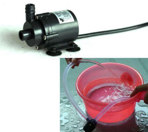 Pompa Aquarium 5v dc 6v 12v micro brushless submersible motor water f