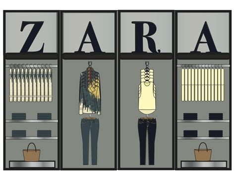 layout of zara zara planograma visual merchandising pinterest zara