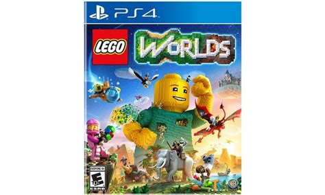 lego worlds ps4 xbox one nintendo switch codes tips guide unofficial books lego worlds for ps4 xbox one or nintendo switch groupon