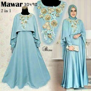 Baju Dress Bordir baju gamis dress cape muslim bordir cantik model terbaru