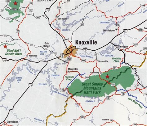 map of east tennessee image detail for maps of knoxville and east tennessee