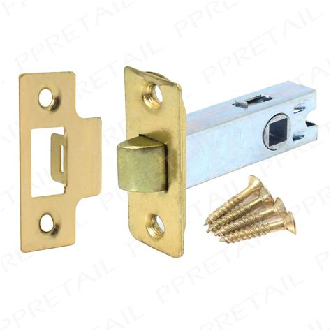Interior Door Latch Brass Mortice Tubular Latch 2 5 Quot 63mm Interior Door Catch Handle New Ebay